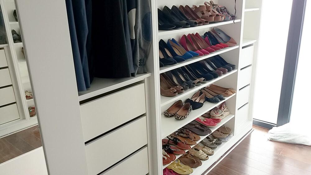 closet de luxo poligna carpintaria
